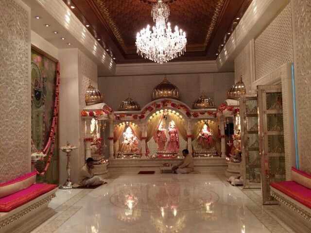Pooja Room at Antilles ? Mukesh Ambani ' s home.