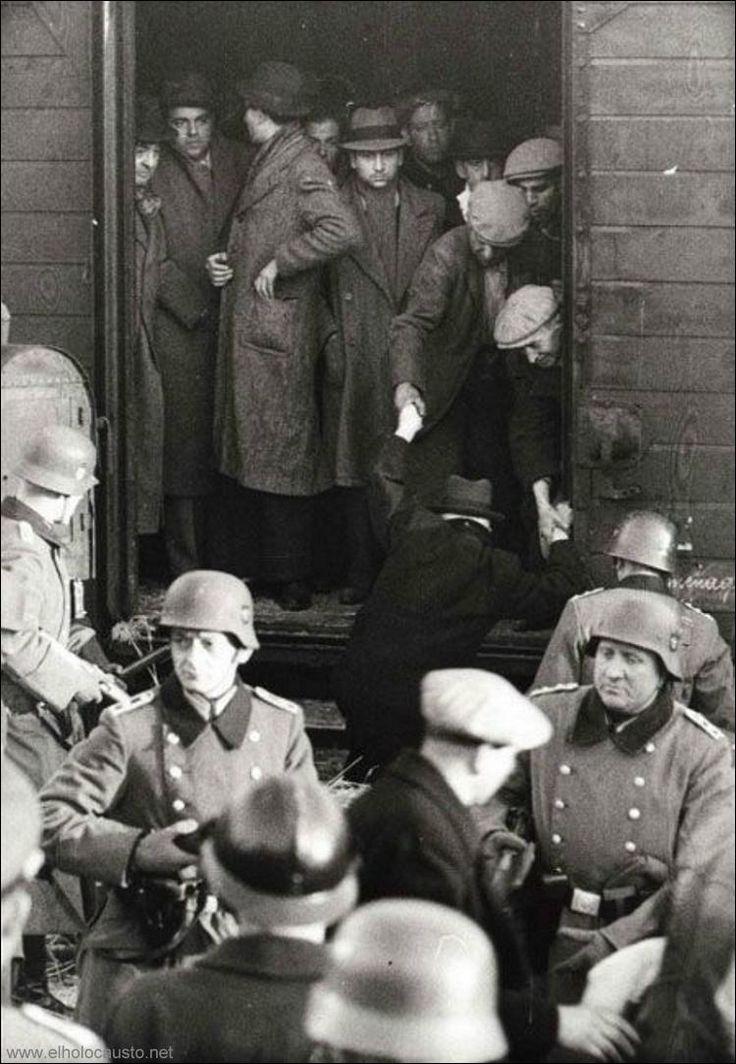 Los transportes hacia la muerte - Historia Virtual del Holocausto