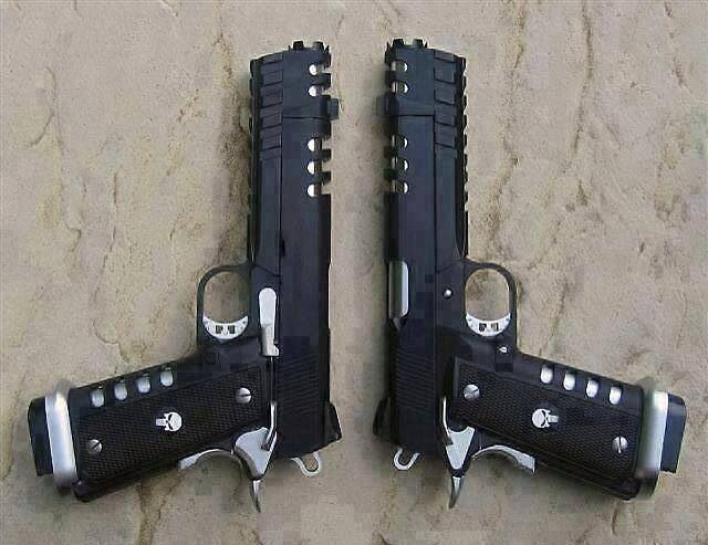 Punisher Grip 1911 Pistols