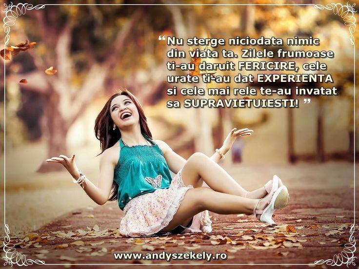 citat despre fericire andy szekely
