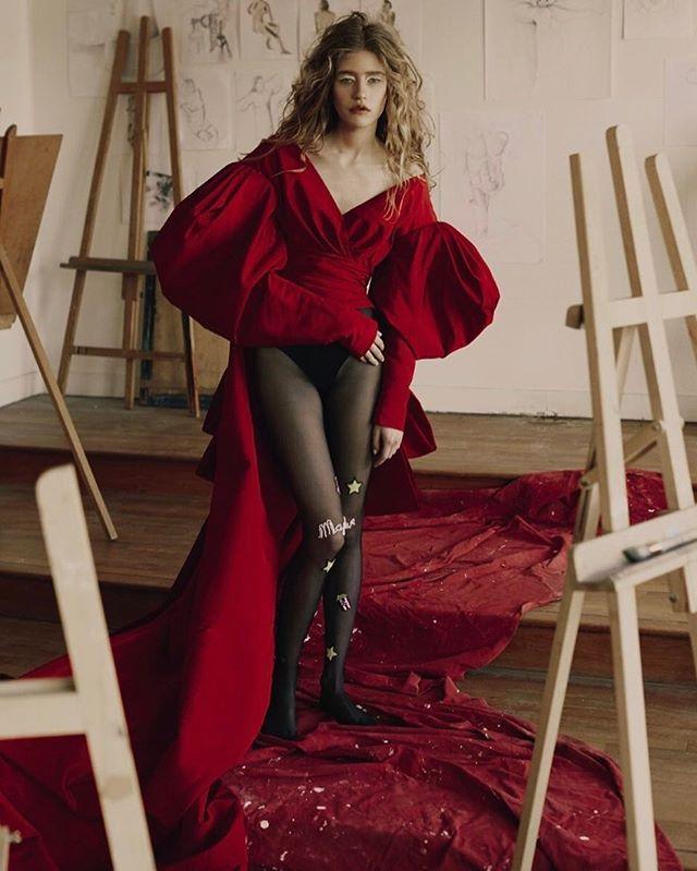 Red is love. Model: @MariamDeVinzelle Photo: @LatourFanny Style: @Zolototrubova./ Маленькое красное платье  абсолютный фаворит будущего сезона. Модели мечты ищите уже сейчас - в апрельском Vogue.  via VOGUE RUSSIA MAGAZINE OFFICIAL INSTAGRAM - Fashion Campaigns  Haute Couture  Advertising  Editorial Photography  Magazine Cover Designs  Supermodels  Runway Models