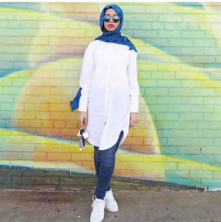 Style Hijab Avec Jeans15