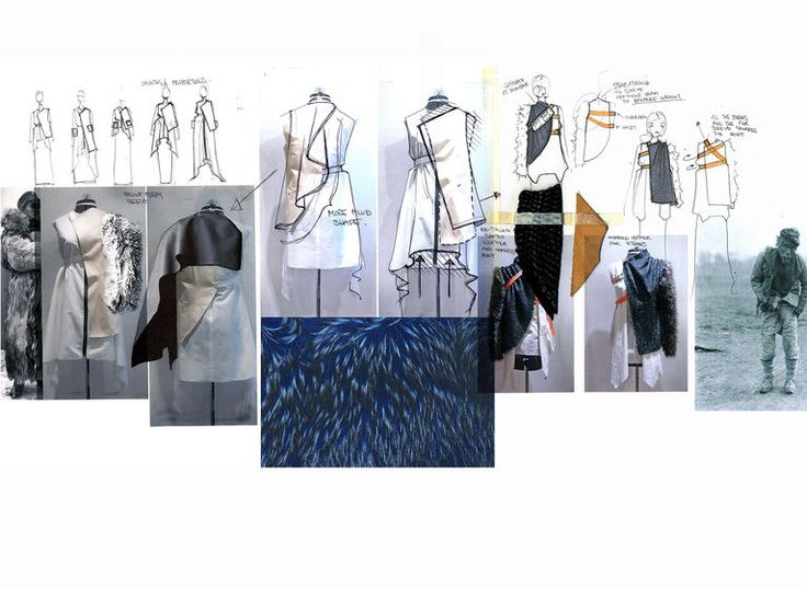 Fashion Sketchbook - fashion design research, sketches and development; fashion portfolio // Kieran Ho