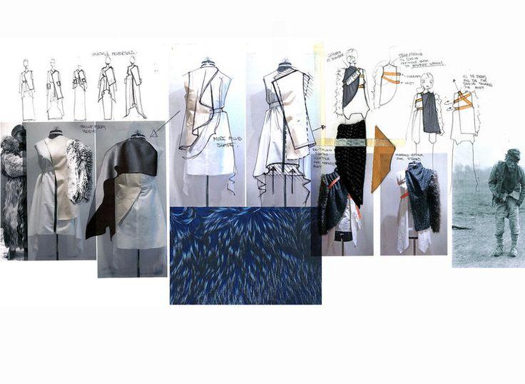Fashion Sketchbook   Fashion Design Research, Sketches And Development;  Fashion Portfolio // Kieran