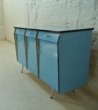 50's kitchen cabinet