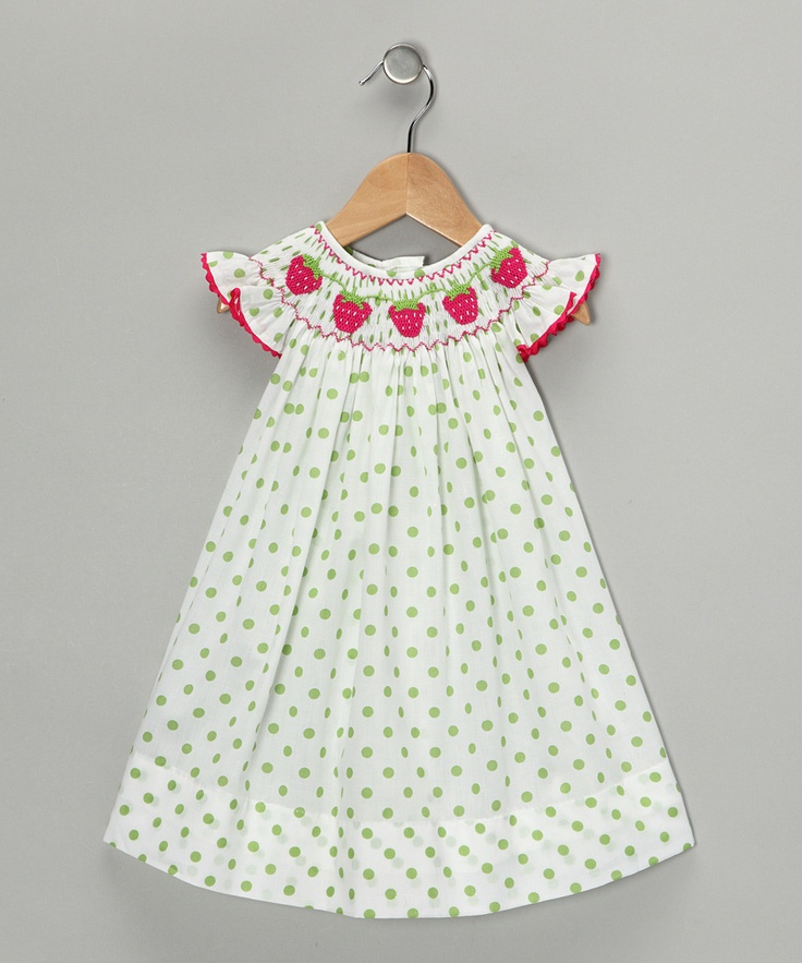 My little LucyKate needs this dress! Too bad it sold out so fast!