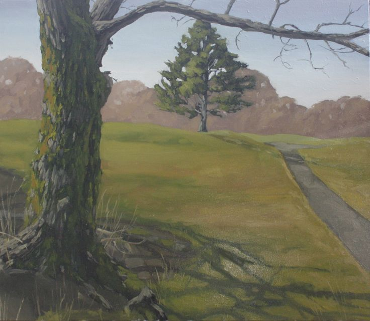 Alex L. King - Oil on Canvas #painting #oil #landscape