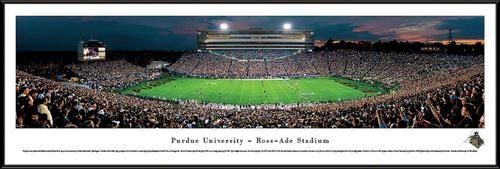 Purdue University Framed Panoramic Photo