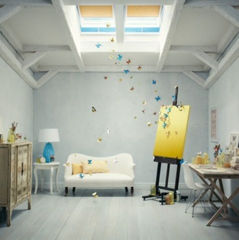 40 Artistic Home Studio Designs. Here To Inspire You. | Daily source for inspiration and fresh ideas on Architecture, Art and Design