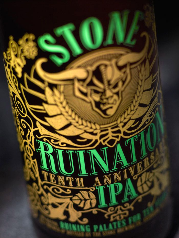 Just in today! Come in while supplies last! Stone Ruination Tenth Anniversary IPA. Come in while supplies last!