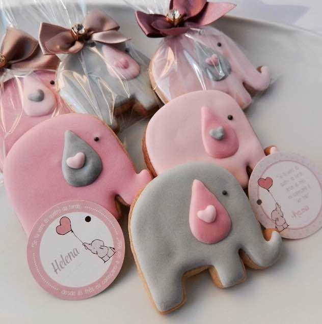Esses Cookies @oficinadesabores, são pra amar! Elefantes graciosos feito de açúcar e amor. #SenhoraInspiracao