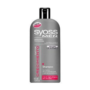 Syoss Men Hair Growth Shampoo with Keratin & Caffeine 16.9 Oz by Syoss. $17.95. Imported from Colombia. Activates hair roots, stimulates growth factors.