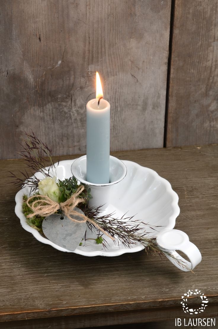 Candles:  #Candle ~ Flower inspiration by Ib Laursen.