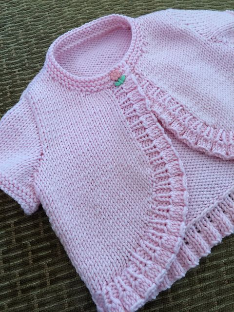Ravelry: Bolero Cardigan with Long or Short Sleeves pattern by Sirdar Spinning Ltd.