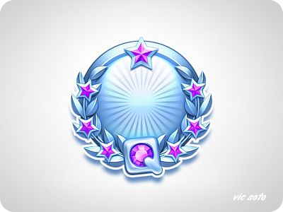 Dribbble - Platinum Medal by Victor Soto