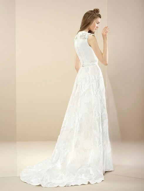 Bruidsjurk van het merk Inmaculada Garcia. Deze trouwjurk hangt bij ons in de winkel.