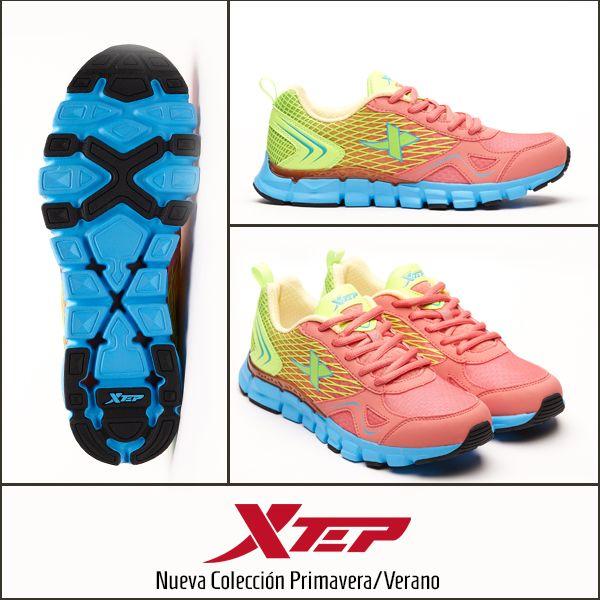 Nueva colección Primavera Verano 2014 #Xtep #Summer #running #sport