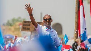 Raising wa Rwanda Paul Kagame ameshinda  uchaguzi uliofanyika ijumaa kwa asilimia 98 ya kura kwa mujibu wa matokeo ya ...