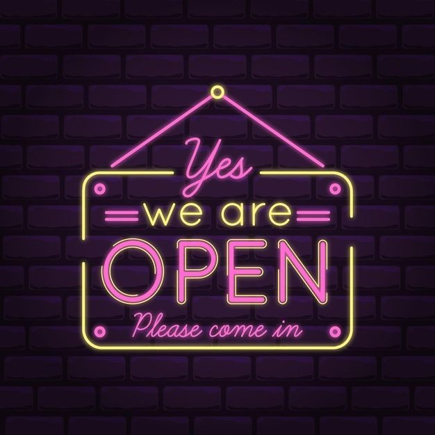Download We Are Open Come In Pink Neon Lights For Free Pink Neon Lights Neon Lighting Neon