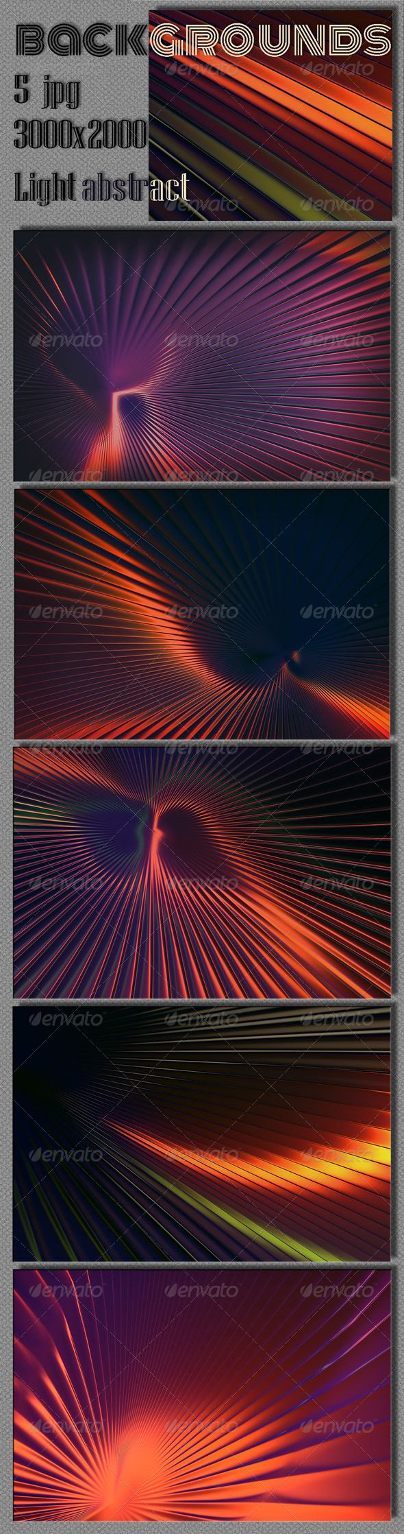 Light Abstract Backgrounds 5 Hi-res Jpeg 3000×2000 300 dpi.