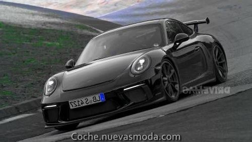 Amazing The Porsche 911 GT3, renovated in 2017, spied on Nurburgring