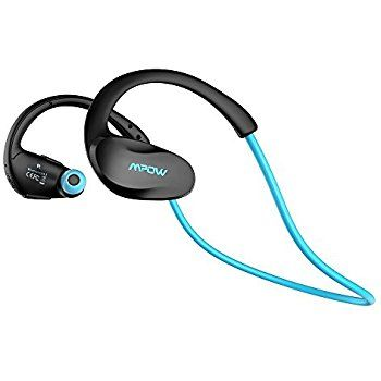 Running Headphones, Mpow 2nd Gen Cheetah Bluetooth Sport Headphones Bluetooth 4.1 with AptX Wireless Headset Earphones Sweatproof Earbuds, Hands-free Calling for iPhone,Samsung, Sony, LG, etc.-- Blue: Amazon.co.uk: Computers & Accessories