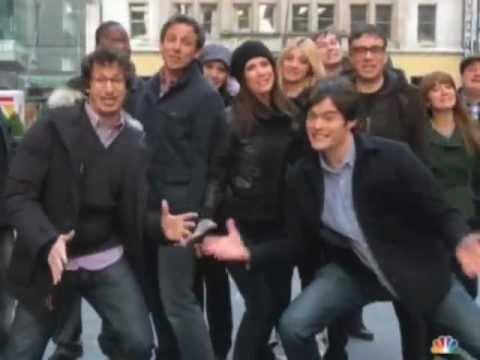 Stars of NBC (30 Rock, Community, SVU, etc) sing Brotherhood of Men... made my day! Happy Super Bowl!