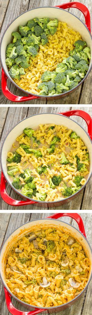 One Pot Wonder Pasta Con Broccoli--I made this last night and thought it was great! It was super simple, all in one pot and it cooked up great! Definitely going in my cookbook.