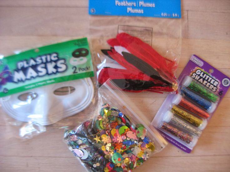 DIY Mardi Gras Masks from Campfires and Cleats