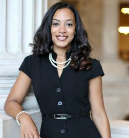Angela Rye  General counsel and executive director at the Congressional Black Caucus who is also a co-founder of a nonprofit that promotes civic engagement.