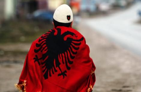 An inspiring photo for me. An albanian child of Kosova #Kosovo