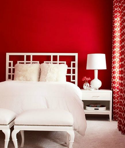 The 25 best ideas about Red Bedroom Walls on PinterestRed wall
