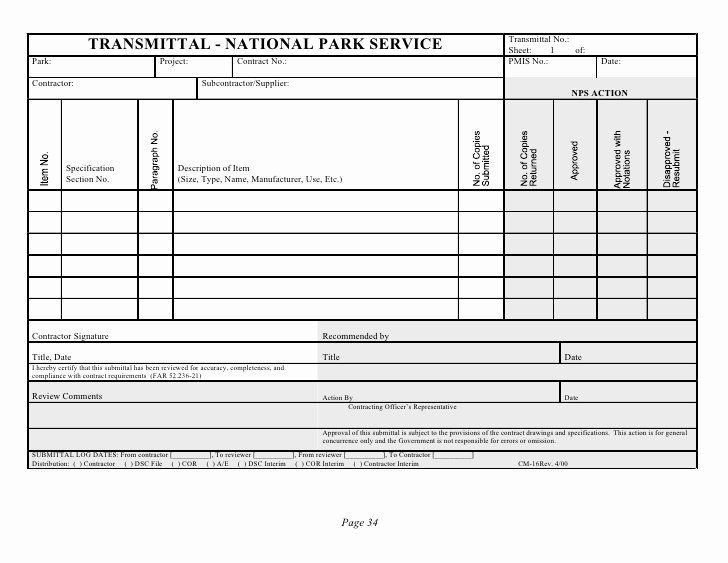 30 Material Submittal Form Template In 2020 Submittal Form