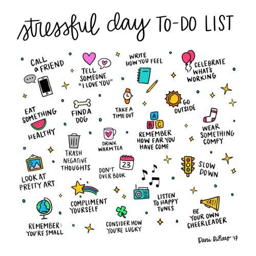 Great idea for self-care list.