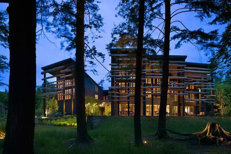 Дом Лэйквуд (Lakewood House) в США от Centerbrook Architects and Planners.