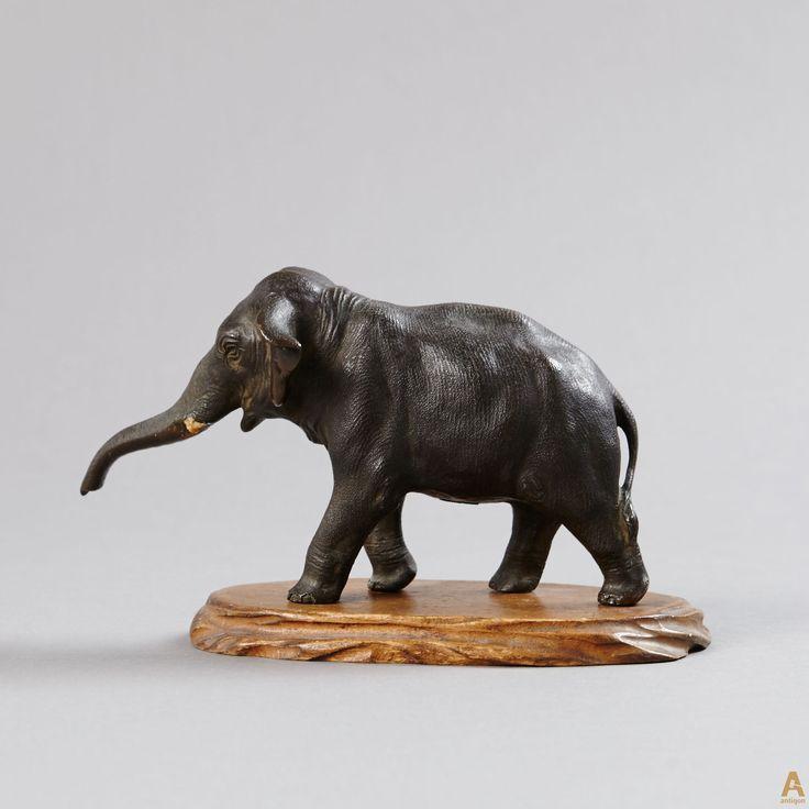 """Бронзовая скульптура """"Слон"""""""
