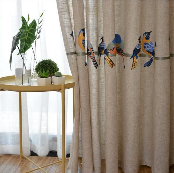 A Pair Of Custom Curtains Made To Order Up To 100l Etsy In 2020 Linen Curtains Custom Curtains Curtains Living Room #vintage #curtains #for #living #room