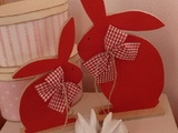 Húsvét 2012 piros-fehér