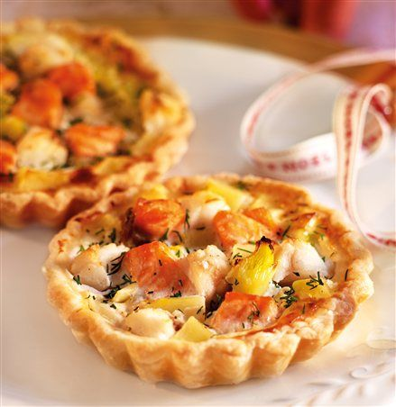 Tartaletas de pescado y patata