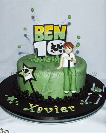 20 best Ben 10 Birthday Cakes images on Pinterest Ben 10 birthday