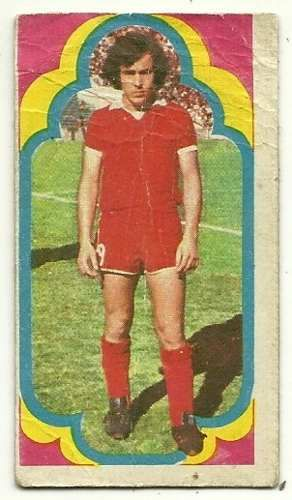 figurita independiente jugadores futbol 1975 bochini