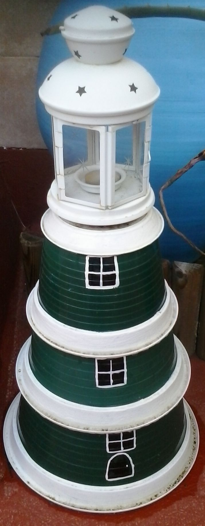 flowerpot light house!