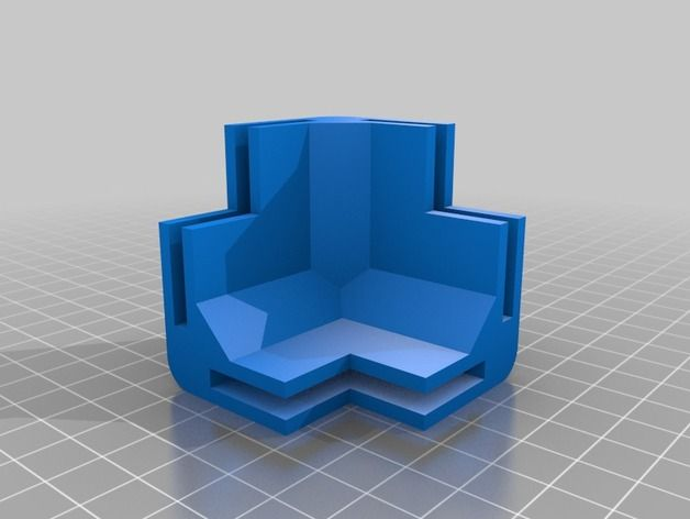 Corner Block for 4mm Plywood Box by Mararuo - Thingiverse