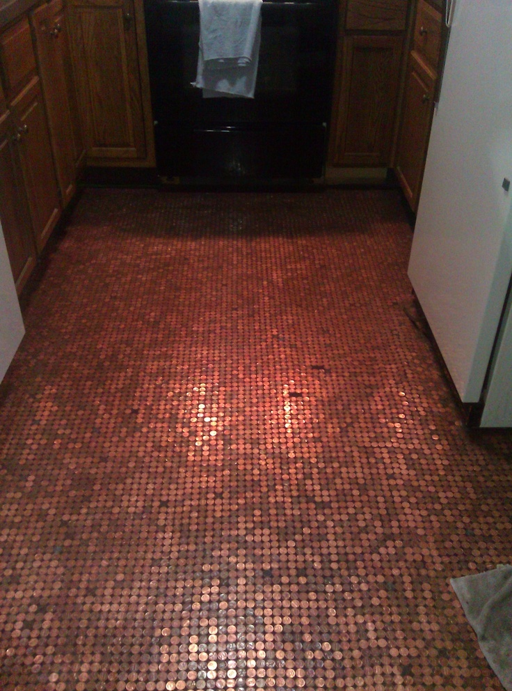 Penny floor glue down with tile adhesive grout gingerly for 15 floor on 100 floors