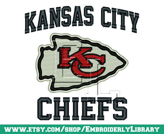 Football Machine Embroidery Designs kansas by EmbroiderlyLibrary