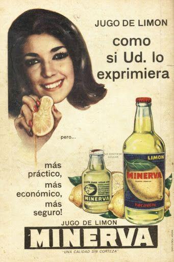 Jugo de limón Minerva - Argentina