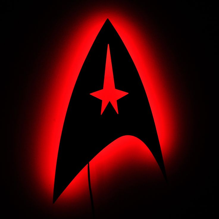 how to draw star trek insignia