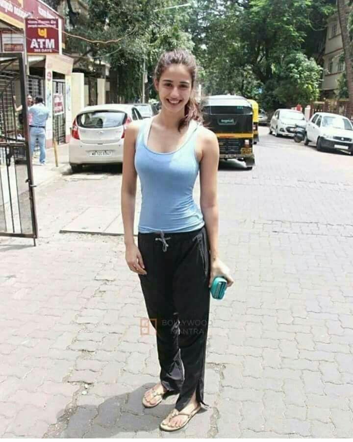 #morning #jogging #walk #natural #look #going #gym #disha #patani