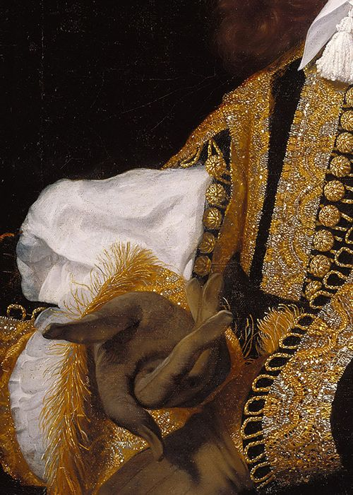 Art, detail .. X ღɱɧღ || Bartholomeus van der Helst, Portrait of a Young Man in Military Clothing (detail), 1659 (x)