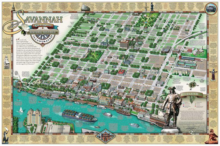 Savannah Hist.District Illus.